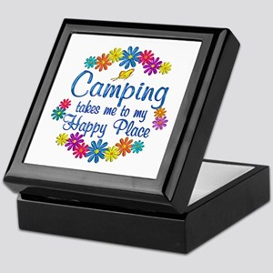 Camping Happy Place Keepsake Box