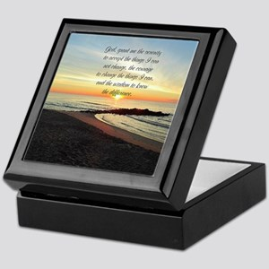 SERENITY PRAYER Keepsake Box