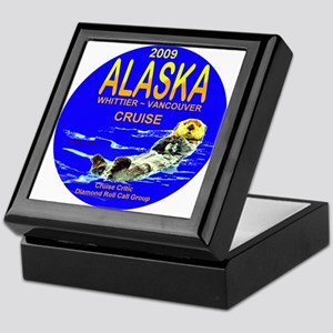 Alaska - Whittier- Vancouver Keepsake Box