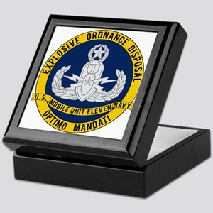 EOD Mobile Unit 11 Keepsake Box