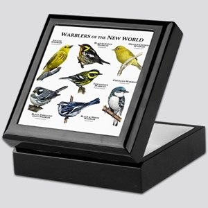 Warblers of the New World Keepsake Box