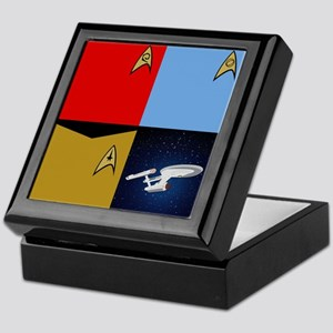 Star Trek Divisions & Ship Keepsake Box