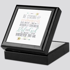 Joshua 1:9 Bible Verse Keepsake Box