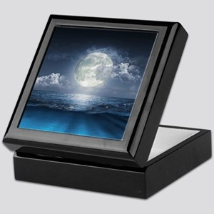 Night Ocean Keepsake Box
