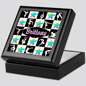 FIERCE GYMNAST Keepsake Box