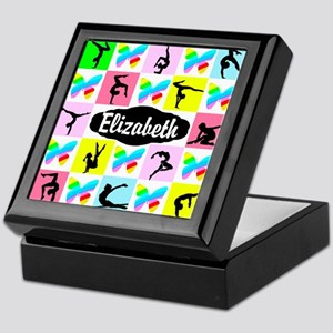 LOVELY GYMNAST Keepsake Box