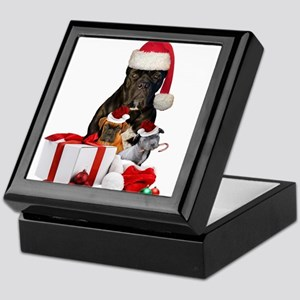 Christmas Cane Corso Keepsake Box