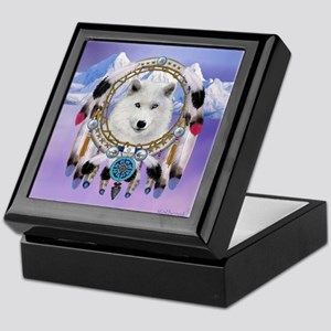 Native American Wolf Spirit Keepsake Box
