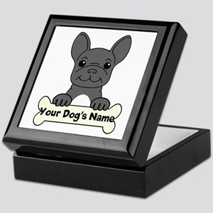 Personalized French Bulldog Keepsake Box