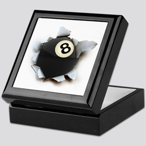 Billiards Burster Keepsake Box