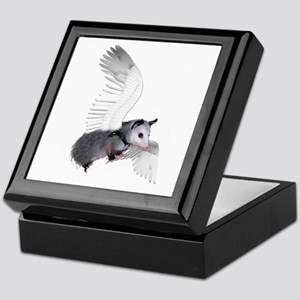 Angel Possum Keepsake Box