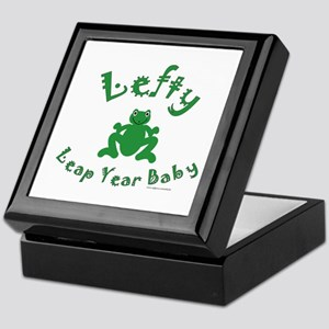Left Handed Leap Year Keepsake Box
