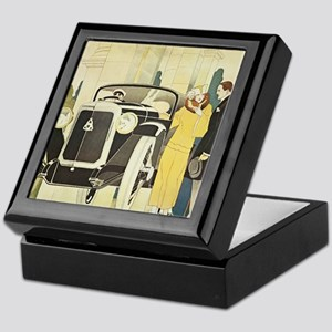 Art Deco Rendevous Keepsake Box