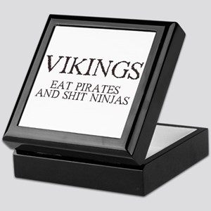 Vikings Eat Pirates Keepsake Box