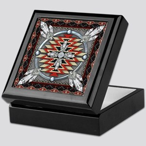 Native American Tapestry 04 Keepsake Box