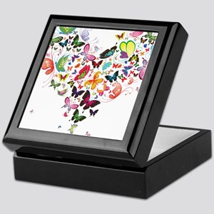 Heart of Butterflies Keepsake Box