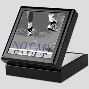 Not My Fault Tennis Keepsake Box