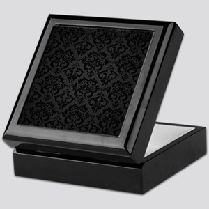 Elegant Black Keepsake Box