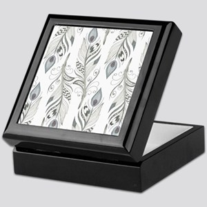 Beautiful Feathers Keepsake Box