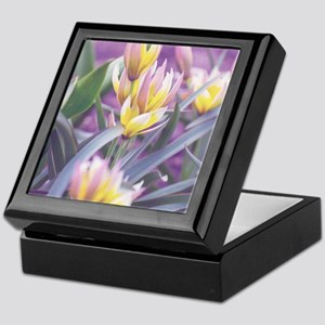 Spring Tulips Keepsake Box