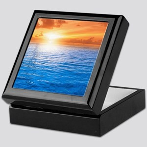 Ocean Sunset Keepsake Box