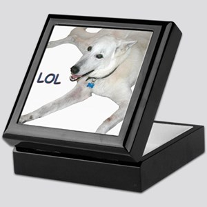 LOL Dog Keepsake Box