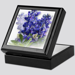 Bluebonnet Spray Keepsake Box