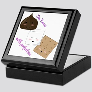 Don't Mess With Perfection Keepsake Box