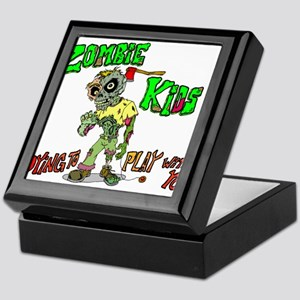 Zombie kids Keepsake Box