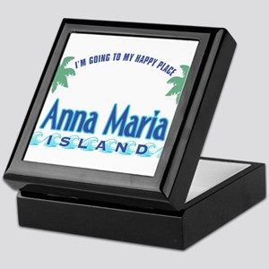 Anna Maria Island-Happy Place Keepsake Box