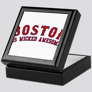 boston is wicked awesome Keepsake Box