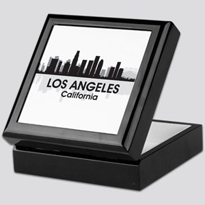 Los Angeles Skyline Keepsake Box