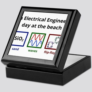 An Electrical Engineer's day at the beach Keepsake