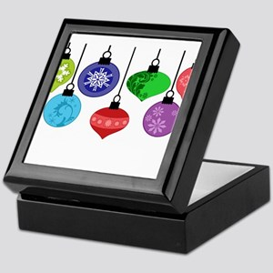 Christmas Ornaments Keepsake Box