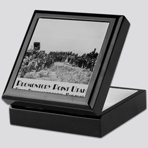 Promontory Point Utah Keepsake Box