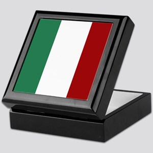 Italian Flag Keepsake Box