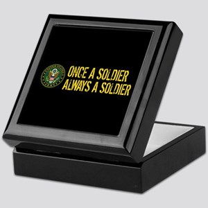U.S. Army: Once a Soldier, Always a S Keepsake Box