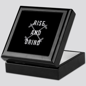 Rise and Grind Keepsake Box