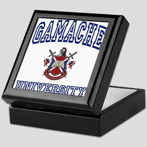 GAMACHE University Keepsake Box