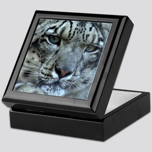 Snow Leopard Keepsake Box