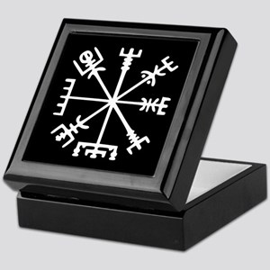 Viking Compass : Vegvisir Keepsake Box