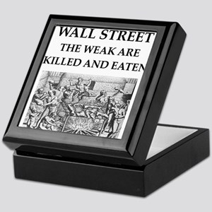 wall street Keepsake Box