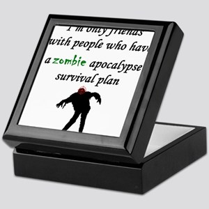 Zombie Plan Keepsake Box