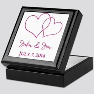 Custom Wedding Favor Keepsake Box
