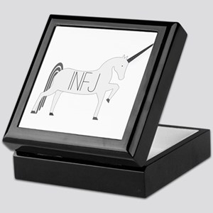 INFJ Unicorn Keepsake Box