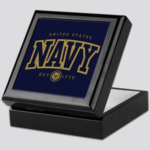 United States Navy Athletic Keepsake Box
