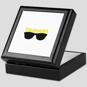 yellow cali shades Keepsake Box