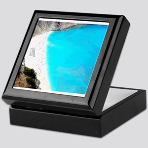 Myrtos of Greece Keepsake Box