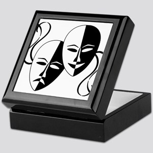 Theatre Masks for Theatre Lover Keepsake Box