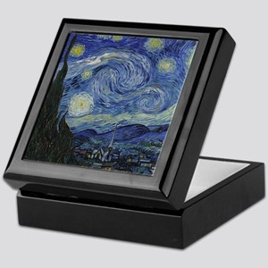 starry trek night Keepsake Box